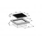 Baumatic BHI637.1 60厘米 黑魂系列 嵌入式三區電磁爐
