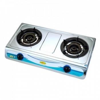 Hibachi 氣霸 HY-2000S9-LPG 72厘米 座檯式不銹鋼雙頭煮食爐 (石油氣)
