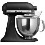 KitchenAid 5KSM175PSBBK 4.8公升 Artisan 抬頭式廚師機 (雙碗 & 雙攪拌槳) (鑄鐵黑)