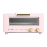 Nutzen 樂斯 NSO-10P 10公升 座檯式微蒸焗爐 (粉紅色)