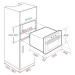 Teka 德格 HKS930S 35公升 嵌入式電蒸爐 (送 Visions 晶彩透明湯鍋 價值$980)