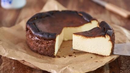巴斯克焦香芝士蛋糕 Basque Burnt Cheesecake (氣炸版)