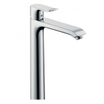 Hansgrohe Metris 260 Single lever basin mixer 260 for washbowls with pop-up waste set (Black Brushed)