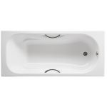Roca Haiti 1.4m 233170 鑄鐵浴缸連扶手