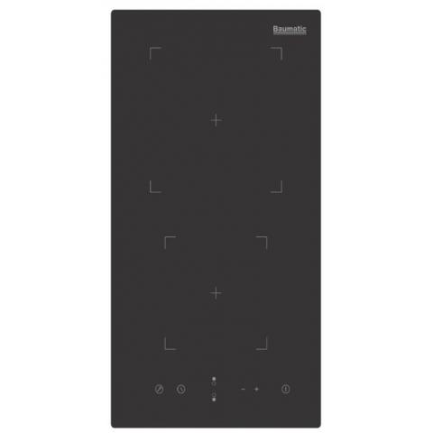 Baumatic BHI305.2 黑魂系列 嵌入式雙頭電磁爐 (配備13A 三腳插)