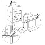 Electrolux 伊萊克斯 EOC5651CAX 74公升 自動清洗 嵌入式電焗爐