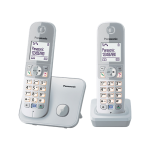 Panasonic 樂聲 KX-TG6812HK DECT數碼室內無線電話 (銀色)