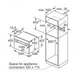 Bosch CDG634AS0 38公升 60厘米 嵌入式電蒸爐