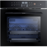 Baumatic BCS674BL 60cm 70L Built-in Combination Steam Oven (with rotisserie)