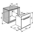 Baumatic BMO620BL 70公升 嵌入式焗爐
