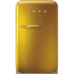 Smeg FAB5RDGO3 34公升 50年代復刻 迷你雪櫃 (金色)