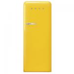 Smeg FAB28RYW4UK 257公升 單門雪櫃 (黃色)