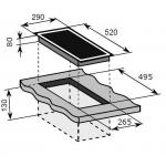 Baumatic BHC311 30厘米 嵌入式單頭電陶爐