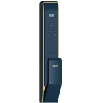 ACER AT310G Touch ID/Password/Card Smart Door Lock (Black and Gold)