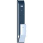 ACER AT310S Touch ID/Password/Card Smart Door Lock (Black and Silver)