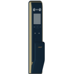 ACER AT510G Face ID/Touch ID/Password/Card Smart Door Lock (Black and Gold)