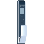 ACER AT510S Face ID/Touch ID/Password/Card Smart Door Lock (Black and Silver)