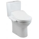 Roca 804010005+341991+34299P Debba Round rimless 自由咀分體座廁配電子廁板(基本型)套裝