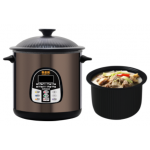 Goldenwell 金樂 GBC-125X 6公升 黑晶陶瓷御品鍋