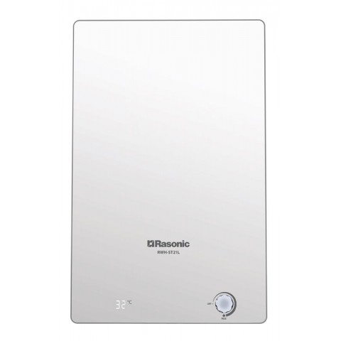 Rasonic 樂信 RWH-ST21LW 19公升 花灑式速熱電熱水爐 (白色強化玻璃)