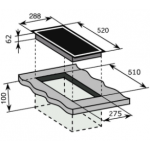 Baumatic BHI305.1 30厘米 黑魂系列 嵌入式雙頭電磁爐
