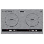 Zanussi 金章 ZIC-6289EKS 71厘米 嵌入/座檯式雙頭電磁爐 (銀灰色)