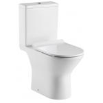 Richford R690 Rimless 無框沖水 相連式 自由咀 納米座廁 連緩衝降板