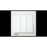 Siemens 西門子 5TA13313PC01 10AX 三位單控開關掣 (白)