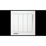 Siemens 西門子 5TA13413PC01 10AX 四位單控開關掣 (白)