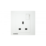 Siemens 西門子 5UB13123PC01 13A 單位開關插座 (白色)