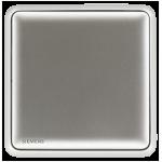 Siemens 西門子 5TA01133PC02 10AX 單位雙控開關掣 (銀)