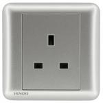 Siemens 西門子 5UB01113PC02 13A 單位插座(銀)