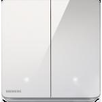 Siemens 西門子 5TA81273PC01 16AX 雙位雙控開關掣(帶LED燈)