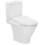 Roca 804025005+3410N0+3420N8 The Gap Round rimless 自由咀分體座廁配電子廁板(尊尚型)套裝