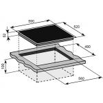 Baumatic BIPC602 60厘米 嵌入式四頭電陶爐