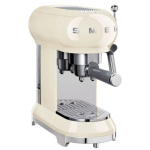 Smeg ECF01CRUK 意式濃缩咖啡機 (奶油色)