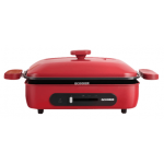 Ocooker 圈廚 CR-LL01T-RD 1000W 多功能煎烤盤 (紅色)