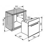Baumatic BMO631W 60厘米 70公升 嵌入式多功能電焗爐
