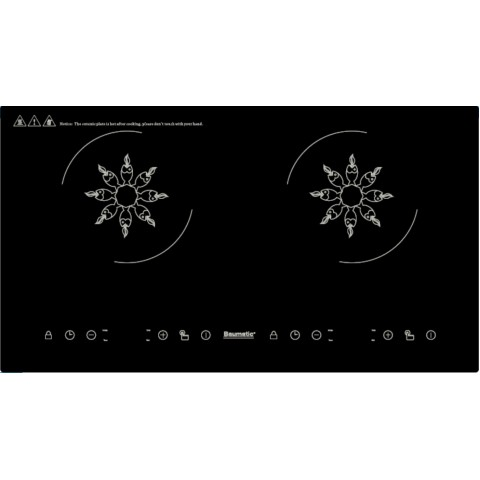 Baumatic BHI244 68厘米 黑魂系列 嵌入式雙頭電磁爐