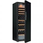 Eurocave E-PURE-L Multi Temperature Zone Wine Cooler (215/bottles) (Nero Black) (3 Sliding + 3 Wooden Shelves)