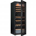 Eurocave E-PURE-L Single Temperature Zone Wine Cooler (215/bottles) (Glass) (3 Sliding + 3 Wooden Shelves)