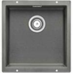 Blanco SUBLINE400-U 523424 50cm Single Bowl Sink (Alu Metallic)