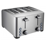 Homey THT-90D 1260W 4/pcs Stainless Steel Toaster