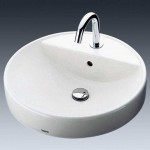 ToTo L700C 49厘米 半埋入桌上式洗臉盆