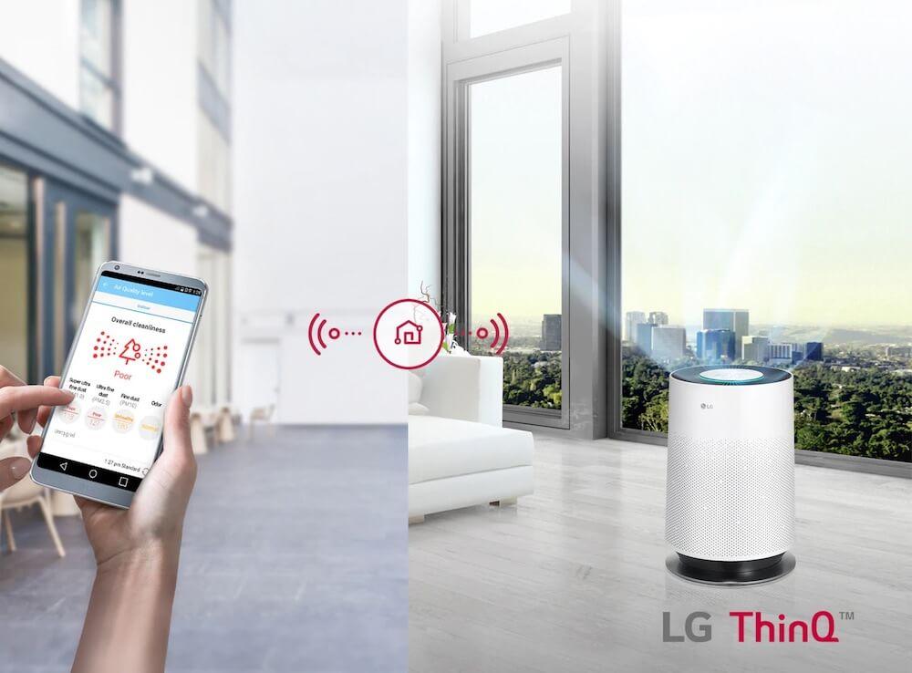 LG 樂金 AS55GDWU0 554平方尺 PuriCare™ 360° 空氣清新機 (韓國製造)